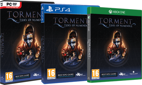 Torment: Tides of Numenera - box